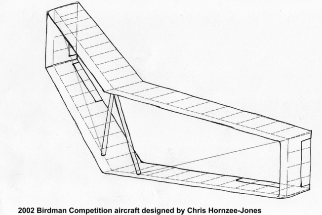 Aerotrope Bi Plane Hang Glider