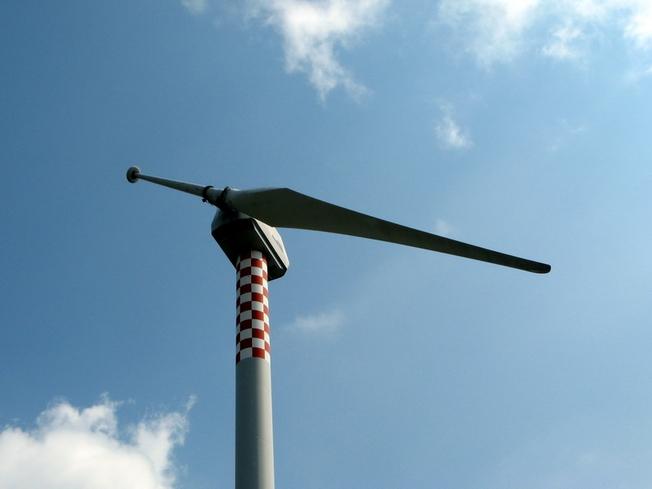 Aerotrope Riva Calzoni M33 Single Bladed Wind Turbine